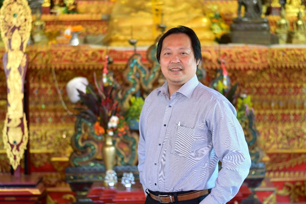 ดร.เทพชัย ทรัพย์นิธิ หัวหน้าทีมวิจัยเทคโนโลยีภาษาธรรมชาติและความหมาย เนคเทค-สวทช.