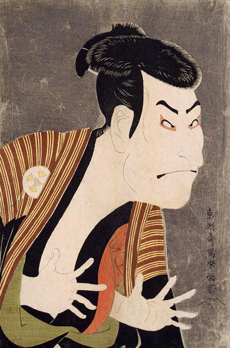 """ยลศิลป์ยินญี่ปุ่น: """"ศิลปินลึกลับผู้วาดภาพนักแสดง"""""""
