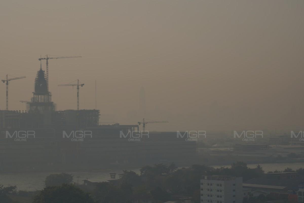 """เคาะแล้ว ! """"อัศวิน"""" ประกาศพื้นที่ กทม.เป็นเขตพื้นที่ควบคุมแก้วิกฤตฝุ่นพิษ PM 2.5 ทั่วเมืองกรุง"""