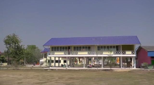 คิง เพาเวอร์ มอบอาคารเรียนวัดโคกสังข์ เมืองกรุงเก่า