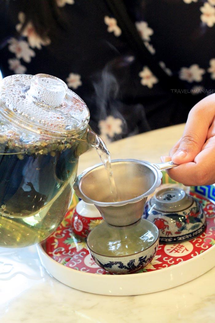 Lhong Tou Flowers Tea