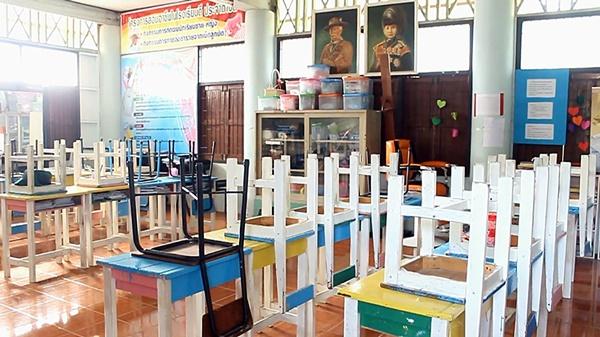 ราชบุรี สั่งปิดโรงเรียนใกล้ถนนสายเลี่ยงเมือง หลังพบมีเด็กป่วย