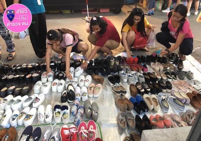 ชื่นชม ตร.หญิง ขายรองเท้ามือ 2 เป็นอาชีพเสริม ชี้ถ้าสู้งานไม่ยากจน