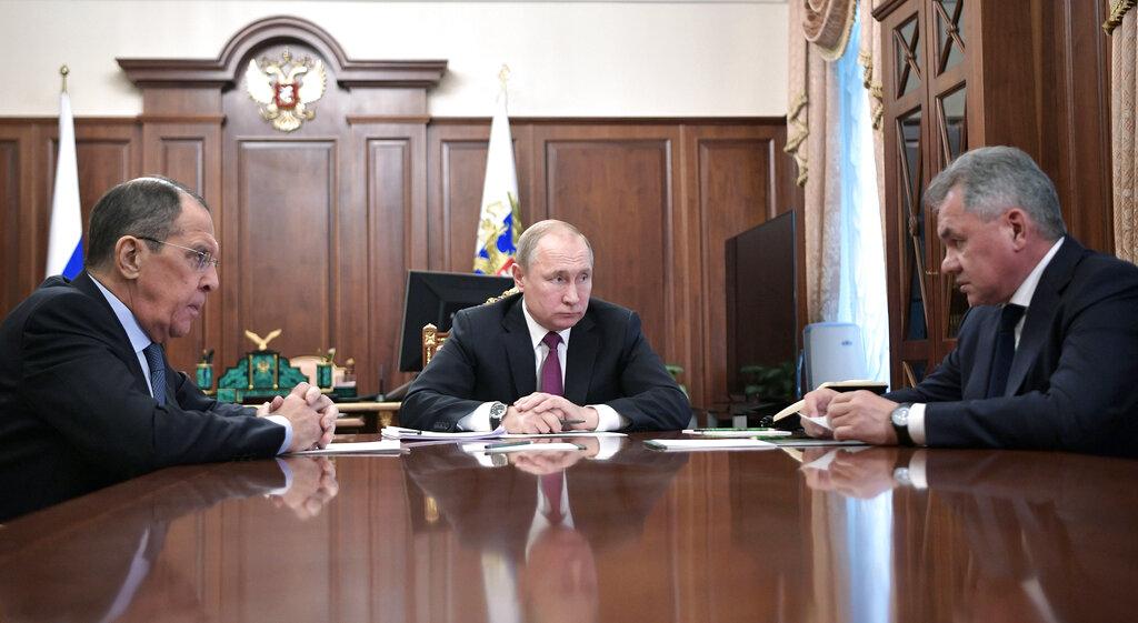 'รัสเซีย'ถอนตัวจากสัญญาขีปนาวุธนิวเคลียร์ ภายหลัง'สหรัฐฯ'ประกาศฉีกทิ้ง