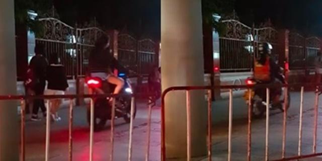 ไม่มีสำนึก! พบกลุ่มจักรยานยนต์ฝ่าฝืนกฎหมาย ขี่รถบนฟุตปาธหนีรถติด ชาวเน็ตท้อแก้ไม่ได้