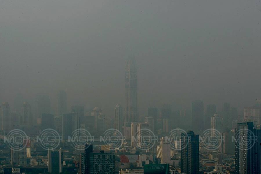 คอนโดสูง-ต่ำ ค่าฝุ่น PM2.5 ไม่ต่างกันมาก ชี้ ติดริมถนนเสี่ยงรับฝุ่นมากกว่า
