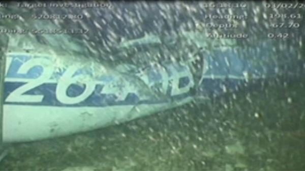 """จนท.สรุปเครื่องบิน """"ซาลา"""" จมก้นทะเล พบ 1 ศพติดอยู่ในซาก"""