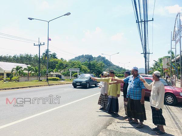 ชาวควนโดนเดือดร้อนหนัก หลังไฟฟ้าถนนหลวง 406 ดับนาน 2 เดือนเสี่ยงอุบัติเหตุ