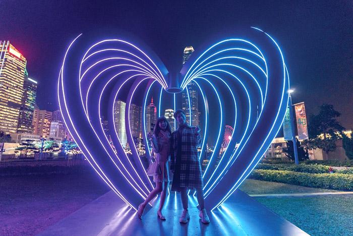 ฮ่องกงจัดใหญ่ เทศกาลไฟ International Light Art Display โชว์ไฟประดับสุดล้ำ