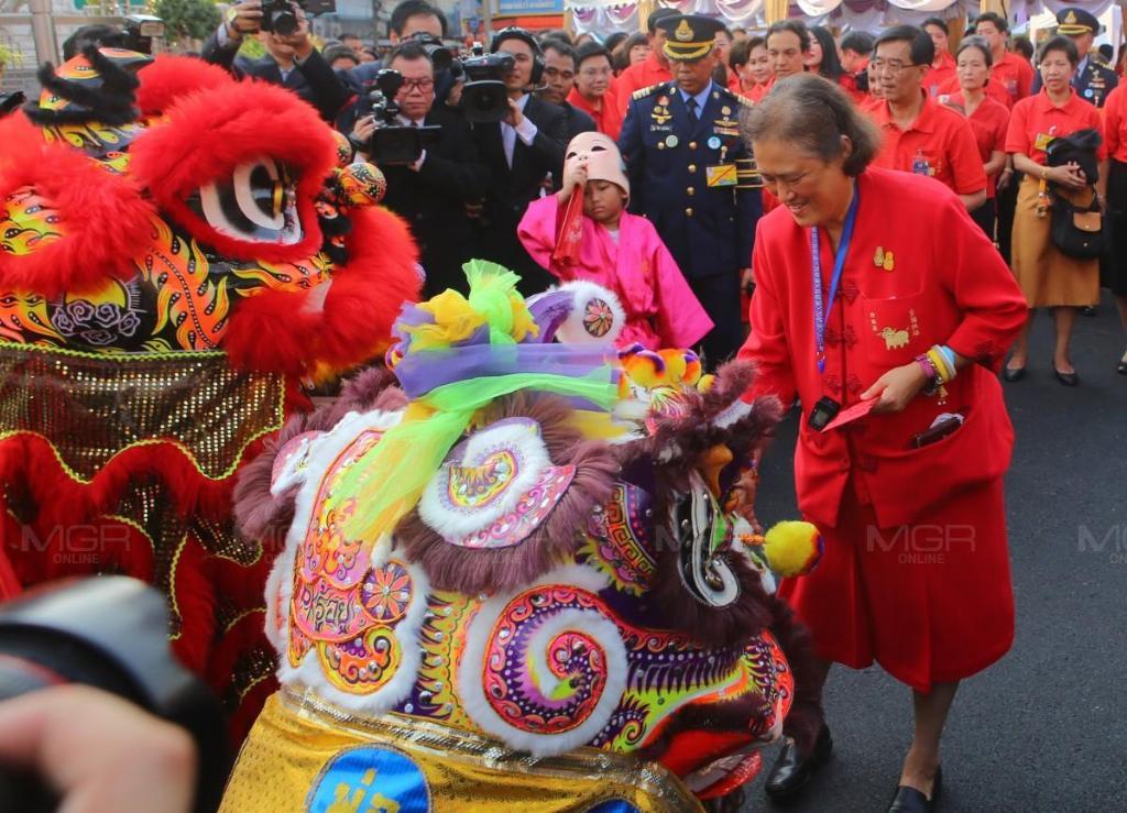 สมเด็จพระเทพฯ ทรงเปิดงานตรุษจีนเยาวราช ปีหมูทอง 2562