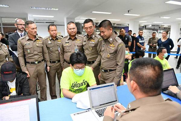 รวบหัวหน้าแก๊งชาวเกาหลีใต้หนีคดี ตามหมายจับตร.สากล คดีฉ้อโกงซุกไทย