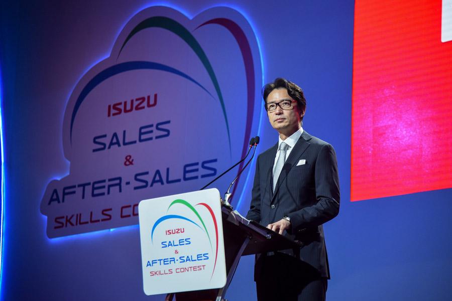 อีซูซุจัดแข่งขัน 'ทักษะด้านการขายและบริการหลังการขาย'