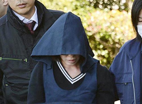 ·ผู้ต้องหาคุริฮาระ นางิสะ คุณแม่ของเด็กหญิงผู้เสียชีวิต