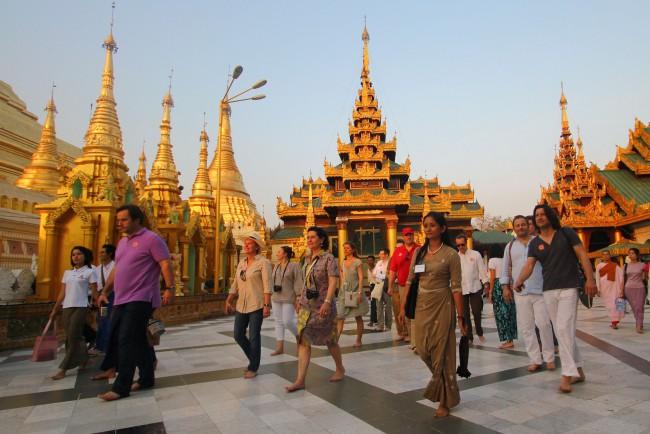 พม่าเปิดยอดนักท่องเที่ยวปี 2561 จีนครองแชมป์ ไทยอันดับ 2
