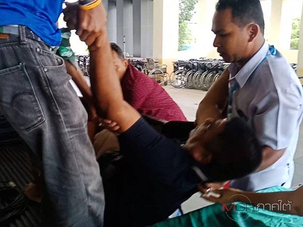 ออกคุกไม่นาน หนุ่มพัทลุงเมาไอซ์ ชักลูกซองยิงชาวบ้านเจ็บสาหัส