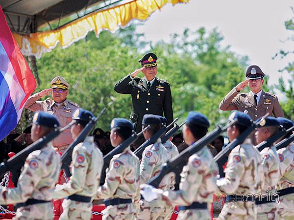 แม่ทัพภาคที่ 4 เป็นประธานในพิธีวันคล้ายวันสถาปนากองอาสารักษาดินแดน จ.ปัตตานี