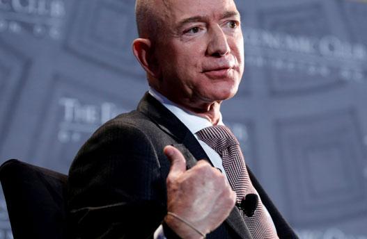 นายเจฟฟ์ เบซอส มหาเศรษฐีอันดับ 1 ของโลก