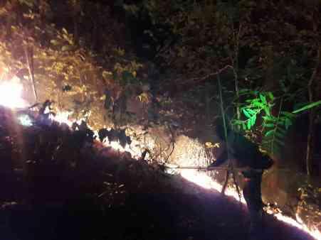 """""""น่าน""""ฝุ่นพิษยังคลุ้ง ฮอตปอตโผล่ไม่หยุดทั่ว 12 อำเภอ ผืนป่า อช.นันทบุรี-ห้วยทรายแดง วอดอีก"""