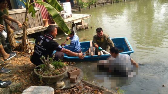 แม่เฒ่าวัย 78 เดินเล่นริมบ่อเลี้ยงปลาหลังบ้าน พลัดตกน้ำเสียชีวิต