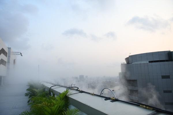 """กฟผ. พร้อมพ่นละอองไอน้ำบนยอดตึก 20 ชั้น """"ในวันที่พบฝุ่น PM 2.5 เกินมาตรฐาน"""""""