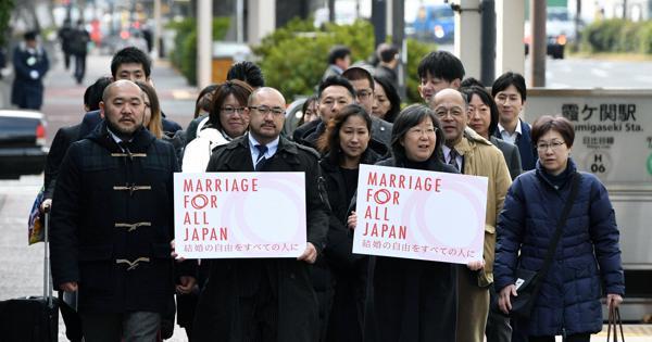 13 คู่รักเพศเดียวกันในญี่ปุ่น ยื่นฟ้องเรียกค่าเสียหายจากรัฐบาลกรณีถูกห้ามแต่งงาน