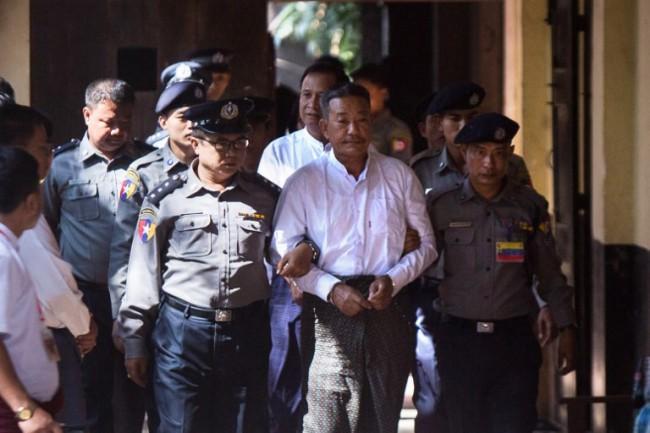 ศาลพม่าตัดสินประหารชีวิตมือปืนสังหารทนายความที่ปรึกษาอองซานซูจี