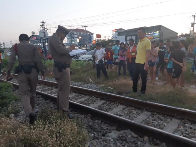 สาวคิดสั้นฆ่าตัวตาย นอนให้รถไฟทับเสียชีวิต ที่หัวหิน