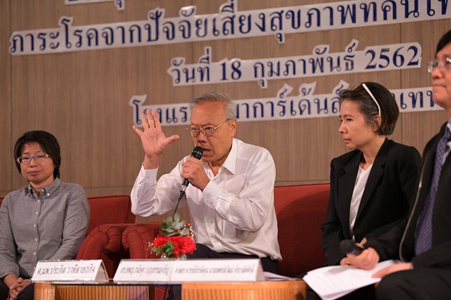 """14 ปัจจัยเสี่ยงทำ """"คนไทย"""" ป่วยหนัก ตายก่อนวัย """"บุหรี่"""" ร้ายสุด ทำตายเร็วขึ้น 18 ปี"""