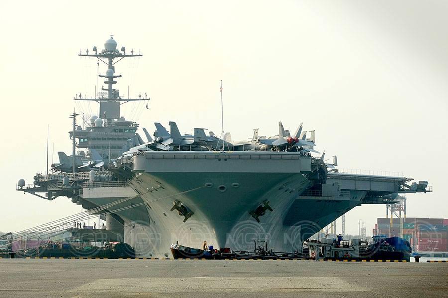 ยล USS John C. Stennis เรือรบบรรทุกอากาศยานสหรัฐ ยิ่งใหญ่สมฐานะมหาอำนาจ!