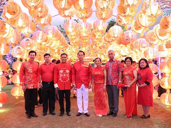 สีสันวันเที่ยวเทศกาลโคมไฟ ทม.สตูล (จับหง่อแม๋) ครั้งที่ 1