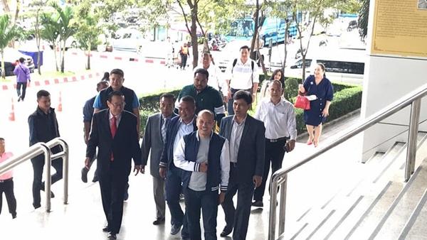 ศาลอนุญาตให้เลื่อนสืบพยานจำเลยคดีก่อการร้ายของกลุ่มคนเสื้อแดง เป็นวันที่ 4 เมษาฯ