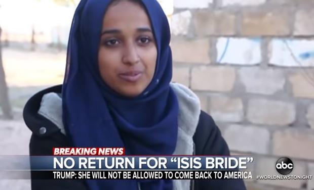 In Clips: ทรัมป์สั่งห้ามผู้หญิงรัฐแอละบาวัย 24 ร่วมก่อการร้าย IS กลับเข้าประเทศ