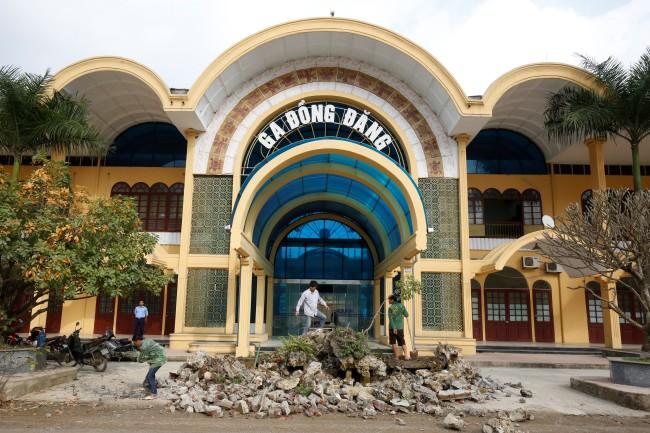 เวียดนามคุมเข้มความปลอดภัยรอบสถานีรถไฟก่อนผู้นำโสมแดงเยือน