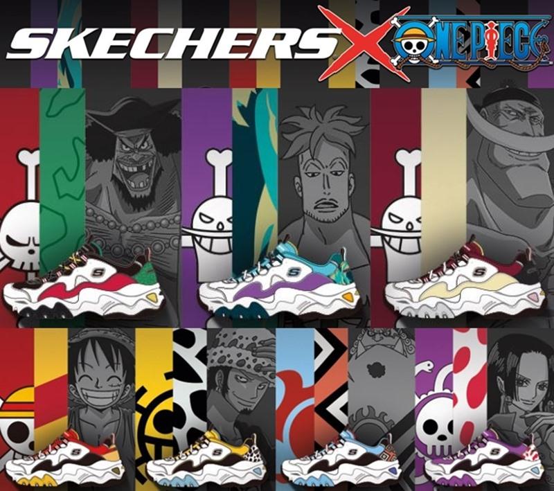 7 คู่จัดว่าเด็ด! Skechers x One Piece