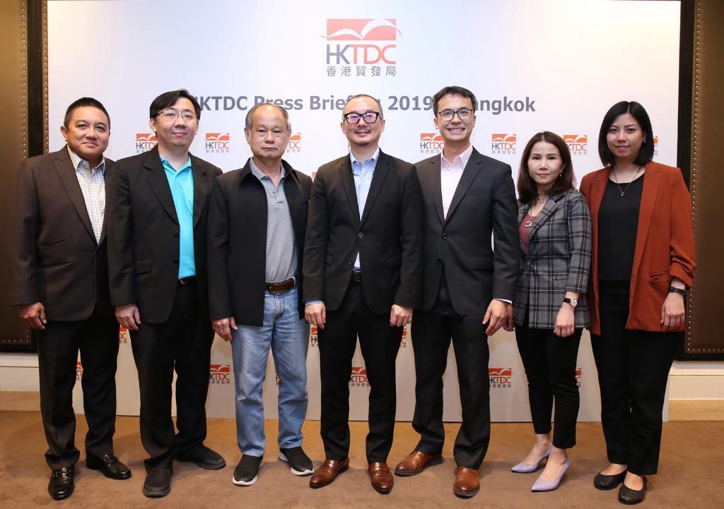 HKTDC เตรียมจัด 8 งานใหญ่ เสริมแกร่งการค้าทวิภาคีไทย-ฮ่องกง