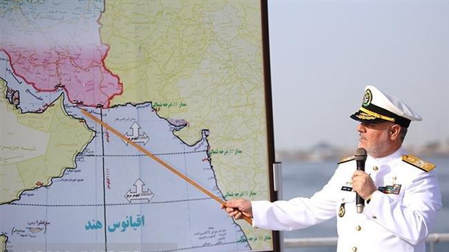 """อิหร่านเปิดฉาก """"ซ้อมรบทางทะเล"""" ในอ่าวอาหรับ ทดสอบยิงขีปนาวุธจากเรือดำน้ำ"""