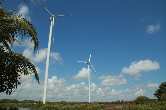 """ชาวท่าบอน อ.ระโนด ขานรับกังหันลม-พลังงานสะอาด เสนอปรับภูมิทัศน์ เพื่อกระตุ้นให้เป็น """"Land Mark"""" ของ จ. สงขลา สร้างรายได้ให้ชุมชน"""