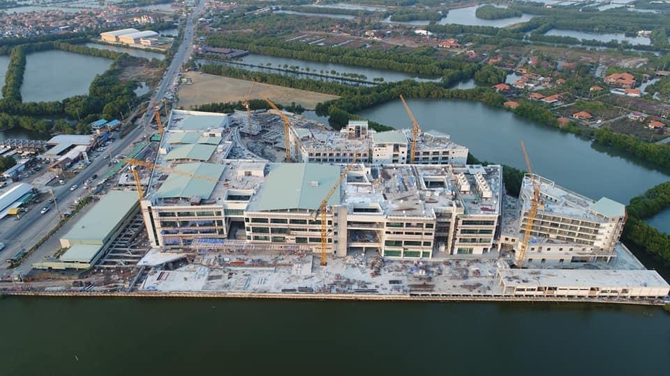 กทม. เผยอาคารโรงพยาบาลผู้สูงอายุบางขุนเทียน คืบหน้าภาพรวมเสร็จ 74.44%