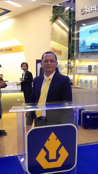 นายสมชาย เกษมทวีศักดิ์ รองผู้จัดการฝ่ายปฏิบัติการภาค 2 (ภาคตะวันออกเฉียงเหนือ ) บริษัทวิริยะประกันภัย จำกัด (มหาชน)