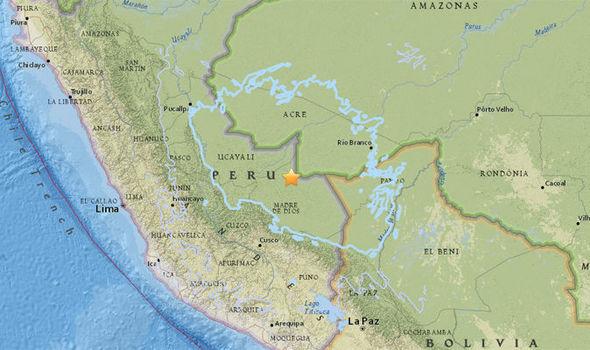 ไม่มีรายงานความเสียหาย หลังเกิดแผ่นดินไหวรุนแรง7.0สั่นสะเทือนเปรู