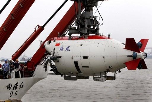 """""""เจียวหลง"""" ยานสำรวจใต้น้ำที่ทำให้จีนผงาดขึ้นเป็นจ้าวยานดำน้ำลึกและการพัฒนาเทคโนโลยีสำรวจใต้ทะเลลึก (แฟ้มภาพเอเอฟพี)"""