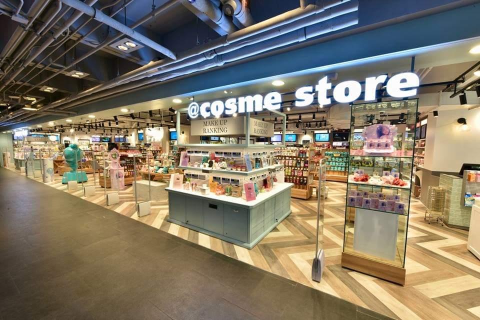 เปิดร้าน @cosme store สาขา2ที่สยามเซ็นเตอร์