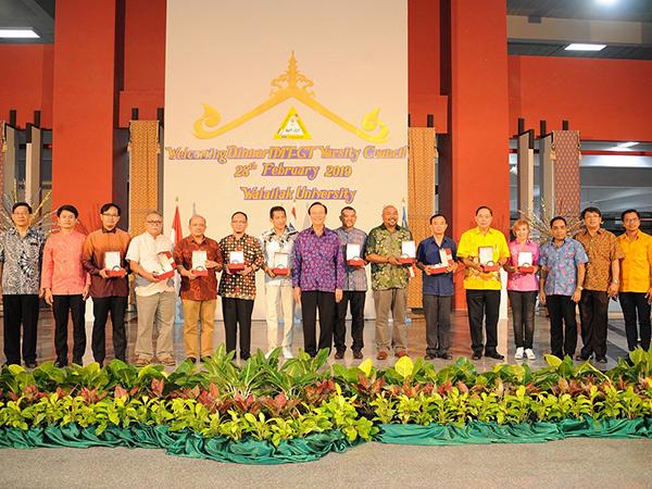 ม.วลัยลักษณ์ ต้อนรับผู้บริหาร 12 มหาวิทยาลัยจากอินโดฯ-มาเลเซีย-ไทย ร่วมประชุม IMT-GT VARSITY COUNCIL