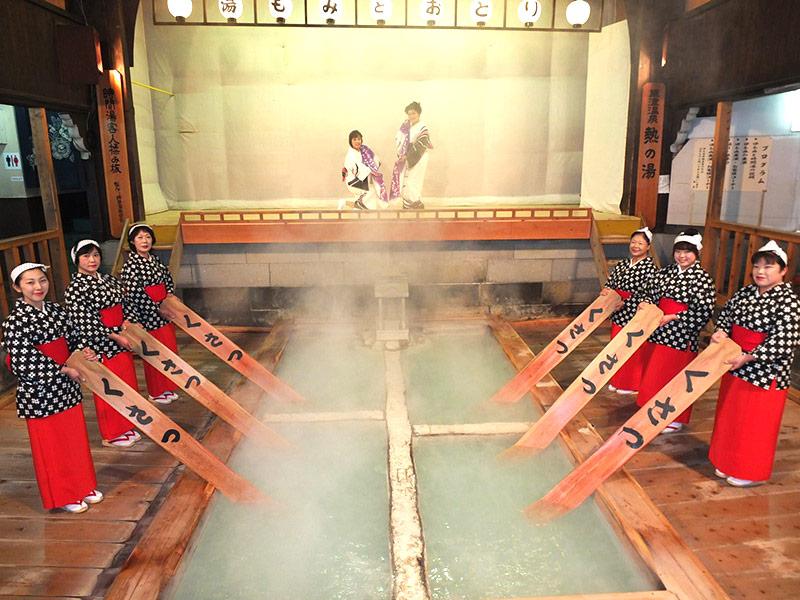 คุซัทสึออนเซ็น สุดยอดออนเซ็นอับดับ 1 ในญี่ปุ่น 16 ปีติดต่อกัน(ภาพ : JNTO)