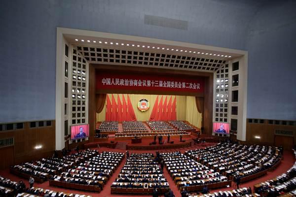 """จีนเปิด """"การประชุมสองสภา"""" ผนึกกำลังปราบความยากจนยกสุดท้าย ก่อนเข้าสู่สังคมกินดีอยู่ดีถ้วนหน้าในปีหน้า (ชมภาพ)"""