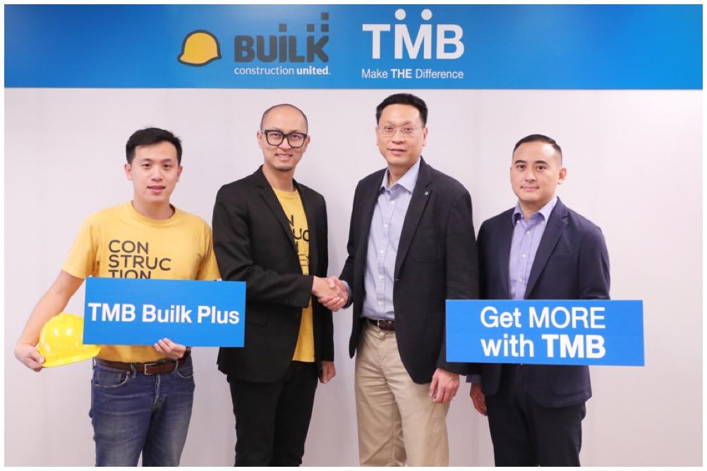 ทีเอ็มบีผนึก Mango – Builk  ยกระดับผู้ประกอบการธุรกิจก่อสร้าง