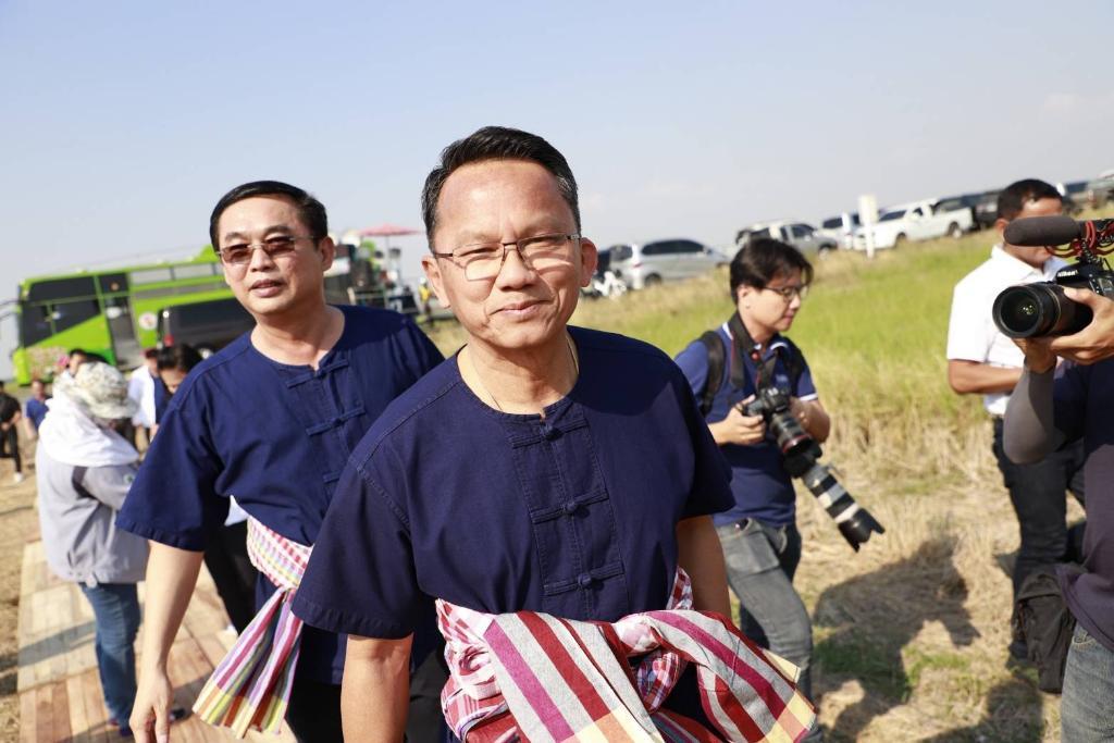 นายสมศักดิ์ เทพสุทิน ประธานคณะกรรมการรณรงค์หาเสียงเลือกตั้ง พรรคพลังประชารัฐ