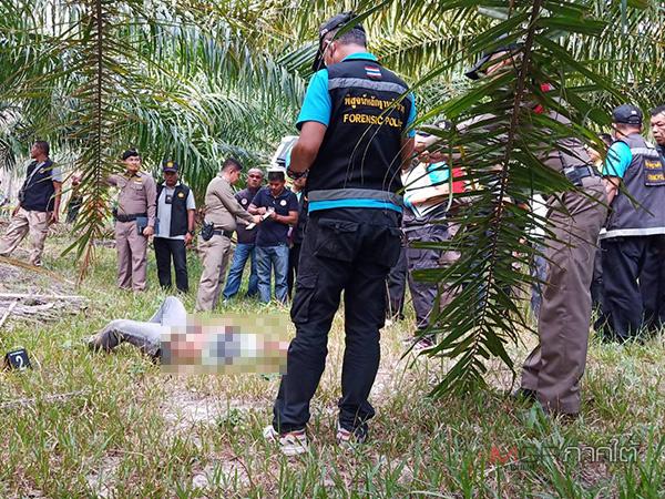 """ยิงปะทะวิสามัญ """"เบิ้ม เขาหัวช้าง"""" ตายกลางสวนปาล์มนครศรีฯ หนีหมายจับศาล"""