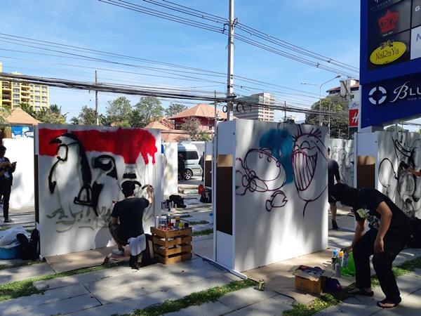 บลูพอร์ต หัวหิน จัดประกวดผลงานศิลปะแนว Street Art and Graffiti