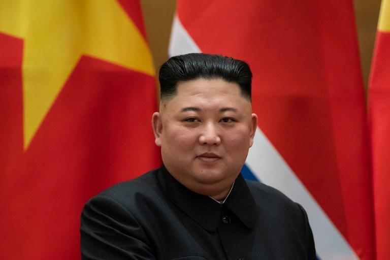 ผู้นำ คิม จองอึน แห่งเกาหลีเหนือ